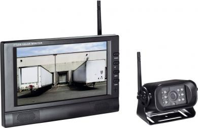 Sistem video wireless supraveghere marşarier