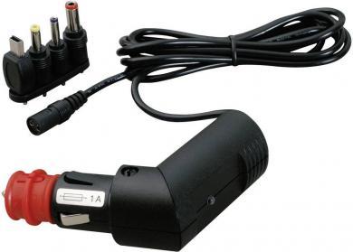 Cablu de încărcare auto cu fişă multiplă
