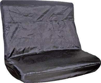 Husă de protecţie banchetă spate, negru, EAL