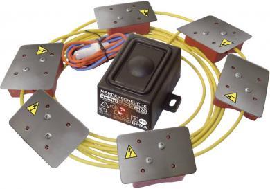 Dispozitiv cu ultrasunete anti-jderi, cu plăci de înaltă tensiune, impermeabil Kemo M176
