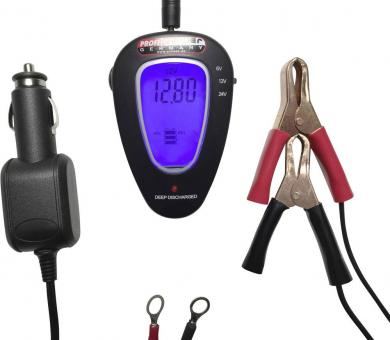 Tester acumulator 12/24 V Profi Power