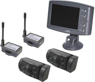 Sistem video wireless de asistență marșarier cu 2 camere ProUser