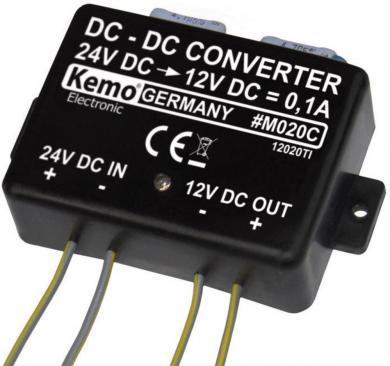 Transformator de tensiune 24 V pentru dispozitive anti-jderi, Kemo M020 C