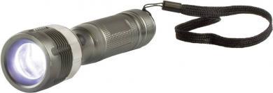 Lanternă de buzunar led 3 W cu zoom, gri