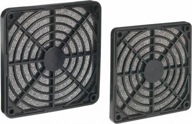 Filtru ventilator AKASA 40 mm, negru