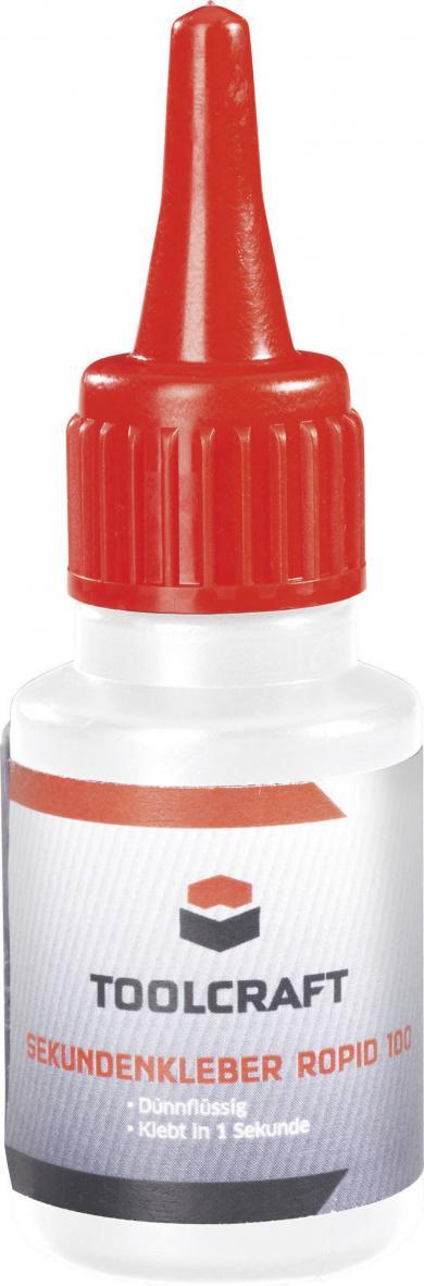 Adeziv instant (super glue) Toolcraft ROPID 100, 20 g