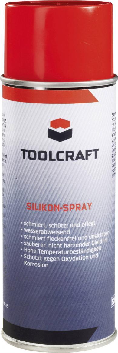 Spray silicon Toolcraft, 400 ml