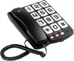 Telefon analogic Sologic T101, taste mari şi ton de apel puternic