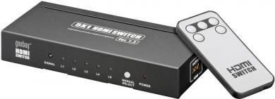 Switch HDMI 5 intrări/1 ieşire AVS 43-5 Goobay, compatibil 3D