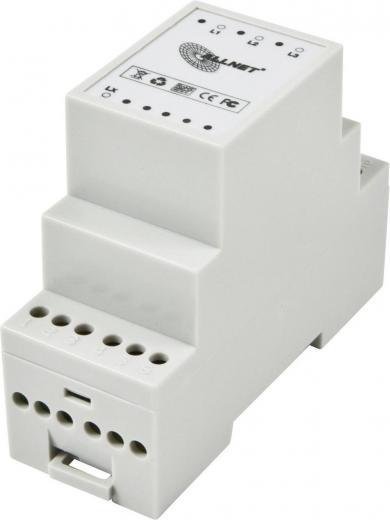 Cuplor de faze Powerline 400 V/AC, 3 faze + LX pasiv, Allnet ALL168PC