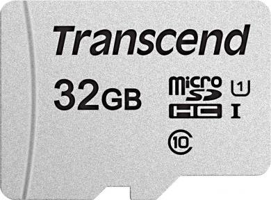 Card de memorie micro-SDHC USD300S, 32 GB, clasa 10 UHS-I, Transcend